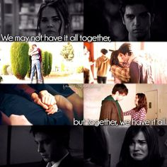We may not have it all together but we belong together