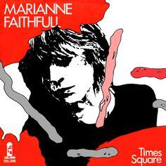 "Marianne Faithfull Times Square (German 7"" 1983)"