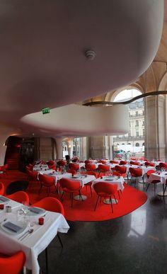 Phantom Restaurant, Opera Garnier, Paris France