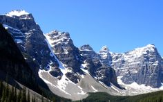 I want to see some snow this year. Enough to snow us in at least 2 day's! Merida, Moraine Lake, World View, Banff National Park, Nature Photos, The Great Outdoors, Places To Travel, At Least, Mountains