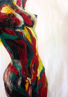We are all so many colors - let them all shine! Figure Painting, Painting & Drawing, Grafik Design, Art Design, Erotic Art, Figurative Art, Love Art, Female Art, Art Inspo