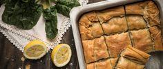 Σπανακόπιτα νηστίσιμη με χωριάτικο φύλλο κιχί (VIDEO) Spanakopita, Food And Drink, Cooking Recipes, Vegan, Ethnic Recipes, Foods, Pie, Food Food, Food Items