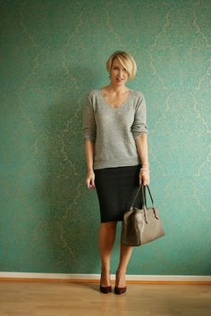 Glam Up Your Lifestyle : Classy pencil skirt