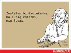 zostałam bibliotekarką