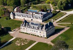 ✈️ Photo aérienne de : Château de Beauregard - Loir-et-Cher (41)