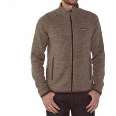 Patagonia always comes through with exceptional quality. This is a beautiful casual sweater, zip up, perfect for layering or on its own. $99 Better Sweater Jacket (Men's) #Patagonia at RockCreek.com #cybermonday #CyberMondayDeal
