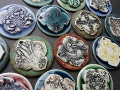 Porcelain jewelry components | Flickr - Photo Sharing!