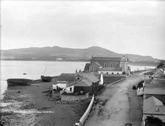 "Baldoyle & Howth hill by French, Robert, photographer Published / Created: [between In collection: The Lawrence Photograph Collection "". Old Photos, Vintage Photos, Photo Engraving, Ireland Homes, St Anne, Dublin, Irish, Photographs, Paintings"