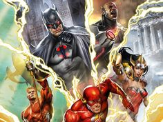 hd wallpaper justice league the flashpoint paradox  by Lyndon Blare (2017-03-01)