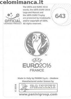 UEFA EURO 2016™ Official Sticker Album: Retro Figurina n. 643 Marko Arnautovic