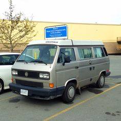 VW Vanagon Westphalia spotted at Capilano Mall, N. Vancouver.