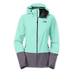 WOMEN'S BASHIE STRETCH JACKET -HIGH RISE GREY / HIGH RISE GREY HEATHER or -TNF BLACK / TNF BLACK HEATHER Sz MD