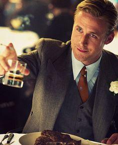 """Ryan Gosling como ícono de la masculinidad y del """"Ser Gentleman"""". Arquetipo del comportamiento masculino."""