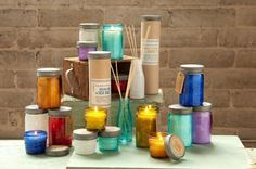 Relish Range ,soy wax candles and diffusers . Comes in great packaging and coloured glass jars x