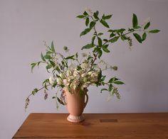 Wedding Ideas: pink-vase-flower-centerpiece