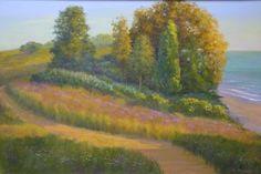 "Saatchi Art Artist William Marvin; Painting, ""Early Morning Walk"" #art"