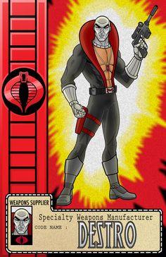 Cobra - Destro by Terry Huddleston *