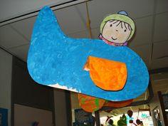 Knutselen 3d: vliegtuig Atlas, Dinosaur Stuffed Animal, Classroom, About Me Blog, Kids, Animals, Worksheets, Google, School