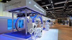 Samsung Appliances | IFA 2013 Berlin - Wash Cool Save Energy Display