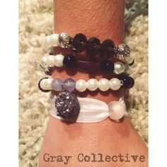 Purple Geo Set by GrayCollective on Etsy, $26.00