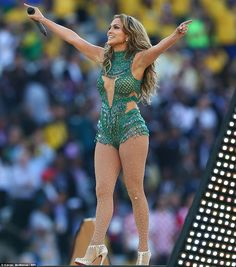 We don't how she does it! J-Lo showed off her unbelievable figure and looked much younger than her 44-years