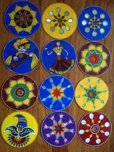 Painted CDs