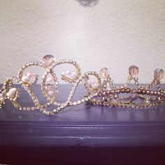 Both are classical ballet tiaras. One for Talisman ballet the other is for Aurora in Sleeping Beauty