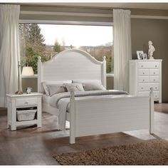 American Woodcrafters Jasmine Poster Bed - AWR1158