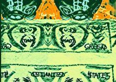 Oh, the seductive power of money! Demystification of money energy, through art.