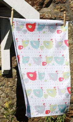 CHICKEN LITTLE TEA TOWEL