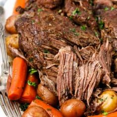 Pot Roast Recipes, Cooking Recipes, Beef Recipes, Potato Recipes, Dinner Recipes, All You Need Is, Perfect Pot Roast, Spend With Pennies, Cake
