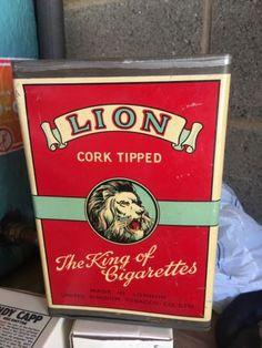 Rare 1940's Cigarette Tin