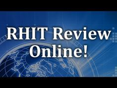 Registered Health Information Technician (RHIT) Exam by learning critical concepts on the test so that you are prepared for as many questions as possible. http://www.testprepreview.com/rhit.htm #rhittest #rhitprep #rhit  http://www.mo-media.com/ahima http://www.flashcardsecrets.com/ahima/ https://www.youtube.com/watch?v=DlaSvFjQMgo
