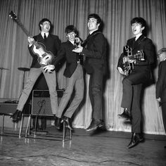 The Beatles' Surprising Contribution To Brain Science by Jon Hamilton, npr. Photo by Central/Hulton Achive/Getty Images: When we listen to a new musical phrase, it is the brain's motor system — not areas involved in hearing — that helps us remember what we've heard, researchers reported at the Society for Neuroscience meeting in New Orleans last month. Listen to the story on npr. So maybe the music really does 'move you'! #Neuroscience #Music #Motor_System #Memory