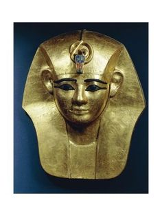 Stock Photo : Treasure of Tanis, Gold mask of King Amenemope Monuments, Statues, Egypt Mummy, Ancient Egypt Art, Gold Class, Archaeology, Find Art, Egyptian, Ancient Egypt