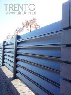Trento aluminium fence