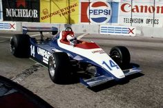 Clay Regazzoni, Long Beach, 1980, his last race for Ensign