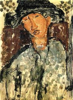 Chaim Soutine Art Print by Modigliani Amedeo. All prints are professionally printed, packaged, and shipped within 3 - 4 business days. Amedeo Modigliani, Modigliani Paintings, Italian Painters, Italian Artist, Blaise Cendrars, Paula Modersohn Becker, Chaim Soutine, Franz Marc, Most Famous Paintings