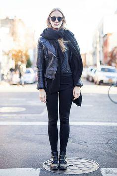 時尚的禦寒搭配!秋冬季學學怎麼穿 Leggings!