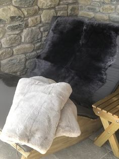 Decor fit for the hills, Sheepskin galore in the swiss alps