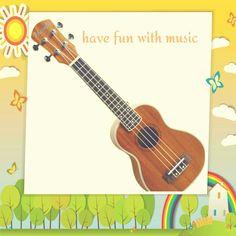 BRIGHTEN YOUR DAY WITH A NANEKI UKULELE. SHOP NOW ON  AMAZON! http://www.amazon.com/Includes-Naneki-Strings-Superior-Appearance/dp/B0116H2X5K