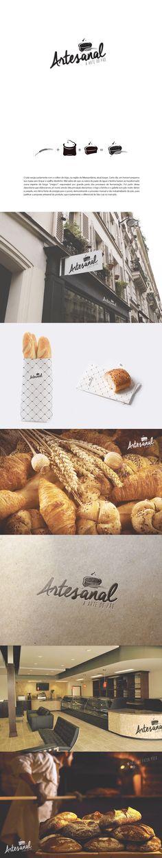 Branding Bakery Artesanal on Behance
