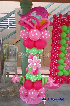 Baba shower rouge et verte ballons Balloon Tower, Love Balloon, Balloon Columns, Balloon Arch, Balloon Ideas, Balloon Frame, Baby Shower Balloon Decorations, Baby Shower Balloons, Birthday Party Decorations