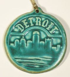 Detroit Ornament  Pewabic Pottery