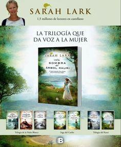A la sombra del árbol Kauri - Sarah Lark  #NovedadesBibliotecaPozoCañada #NovelaRomántica  http://peroquelocuradelibros.blogspot.com.es/2014/11/a-la-sombra-del-arbol-kauri-de-saralark.html