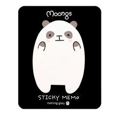 Buy Kawaii Moongs Sticky Memo Notes - Placid Panda at ARTBOX