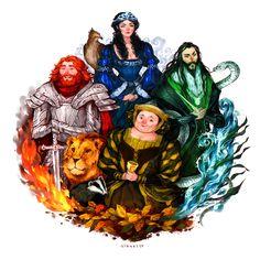 Hogwarts Four