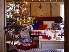Weihnachten wohnzimmer ~ Adventsstimmung traditionelles weihnachten zuhausewohnen its
