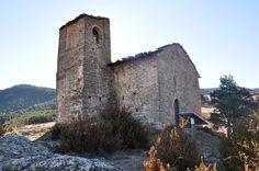 Església de Santa Maria de les Peces, a Alàs i Cerc. Alt Urgell (Catalunya - Catalonia)