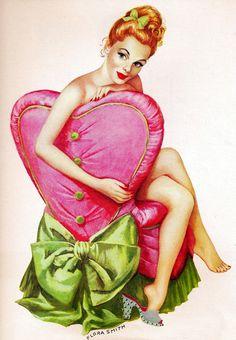 vintagegal:  Illustration by Flora Smith, 1948    ]]>